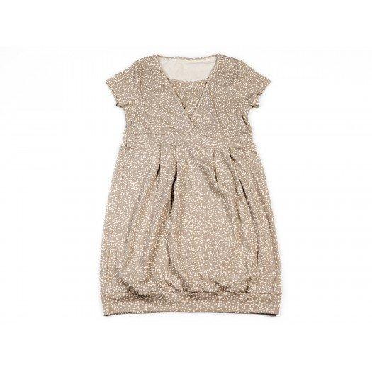 Breastfeeding Dress Sadhana_Grey Confetti