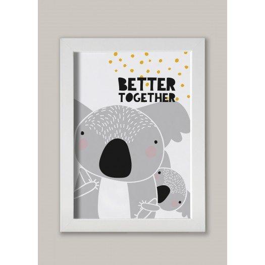 "Lámina ""Better Together"" Koala"