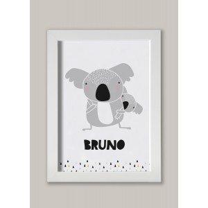 Koala NOMBRE lámina
