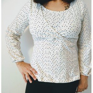 Breastfeeding Shirt Alaya_Triang