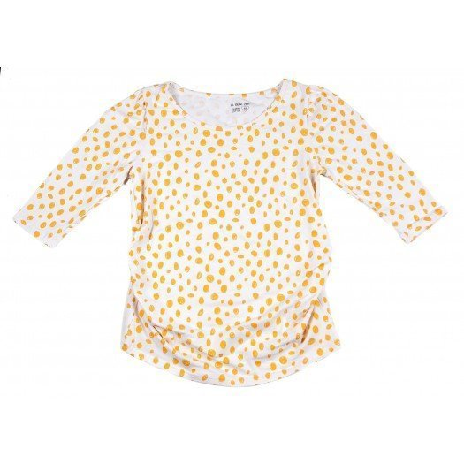 Camiseta Embarazo Unsui_Mustard Dots