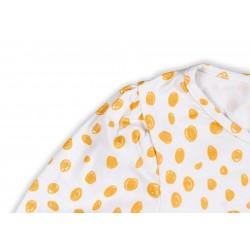 Pregnancy Shirt Unsui_Mustard dots