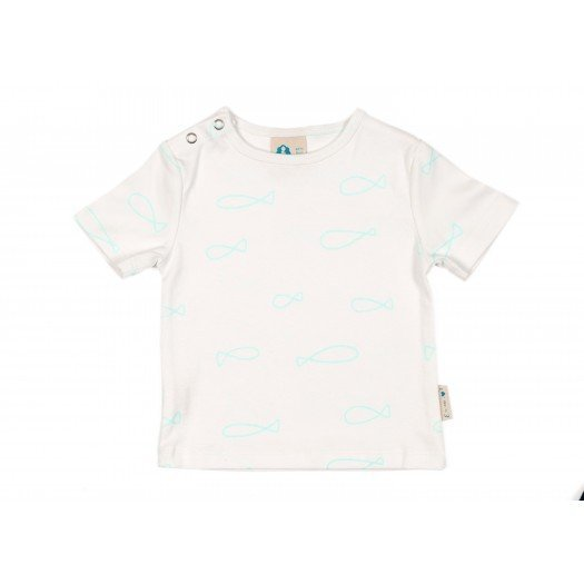 Shirt_Mint Fishes