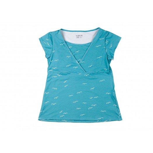 Breastfeeding Shirt Dharani_Bird