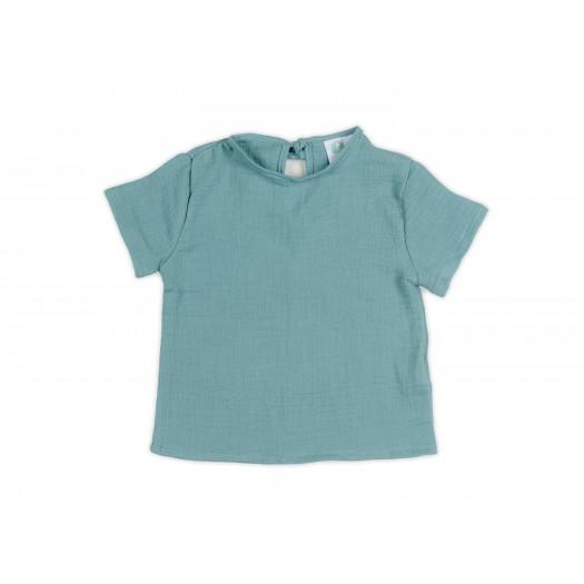 CAMISETA Bámbula Turquoise