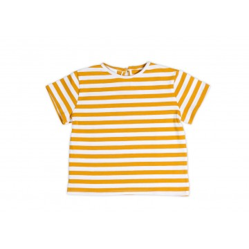 T-Shirt Mustard STRIPES